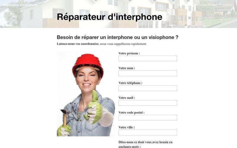 Où trouver un réparateur d'interphone ?