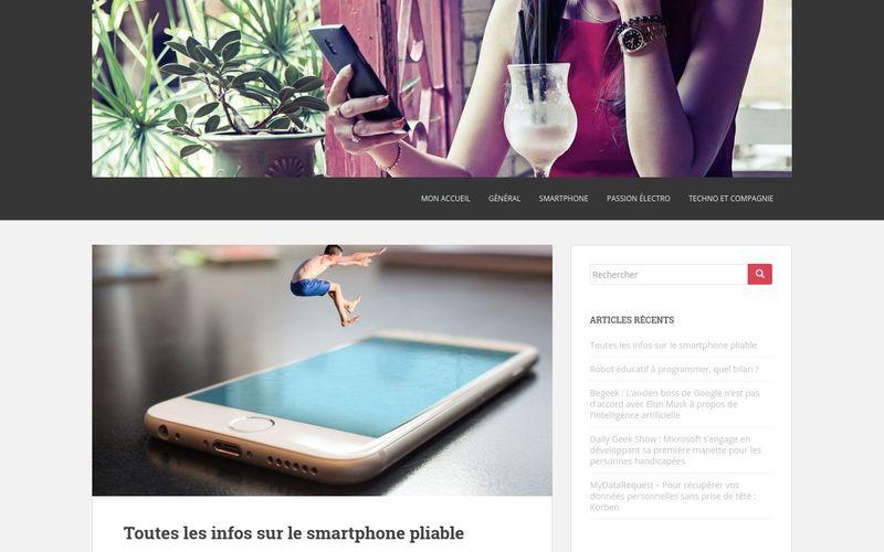 Tout dans la poche : le site dédié au smartphones